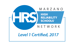 High Reliability Schools Level 1 Certified