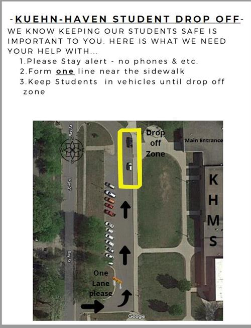 Kuehn-Haven Student Drop Off